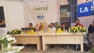 Seprim Energia con PALM al workshop su legno e cambiamento climatico all'esposizione CHEESE-SLOWFOOD 2018 a Bra